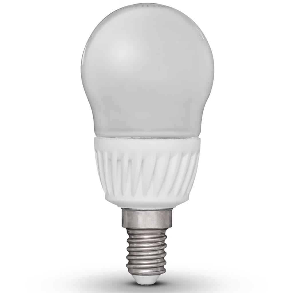 Luxform 4 db LED Izzók Körte Alakú E14 230V 5W G45 (EWW)