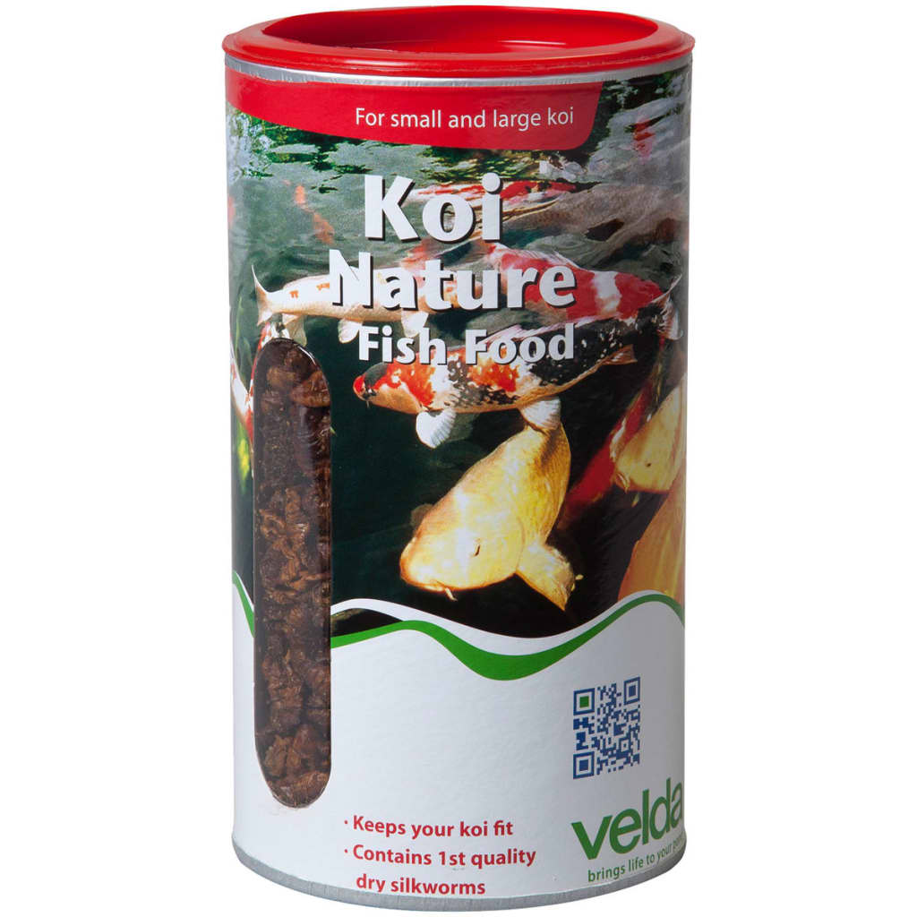 Velda koi nature fish food 1375 g for Koi fish food for sale