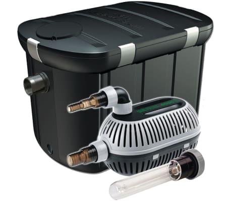 Articoli per velda set filtro cross flow biofill per for Filtro per laghetto autocostruito