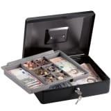 Masterlock CB-12ML Mittelgroße Geldkassette mit Einsatz