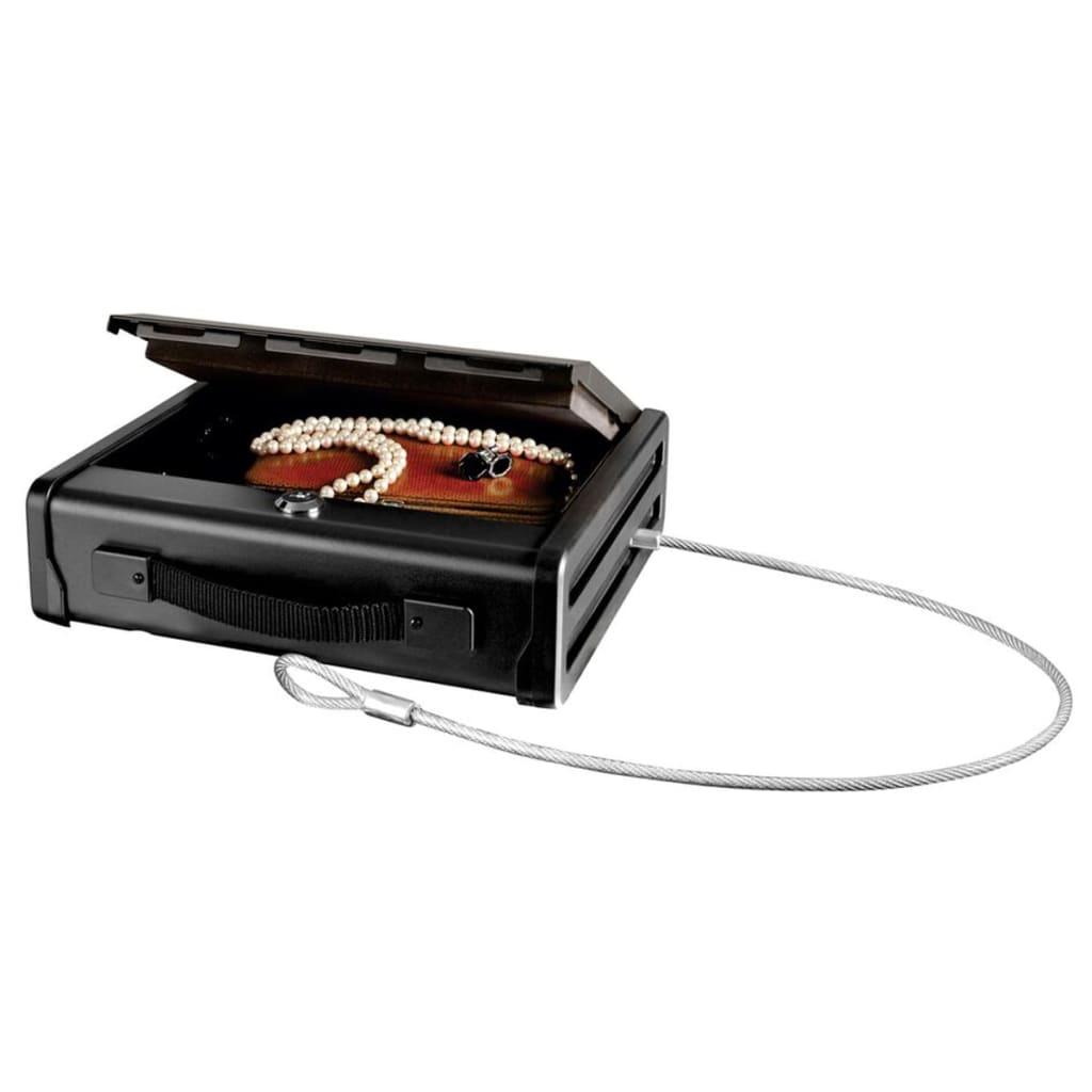 Masterlock PP1KML litet kompakt kassaskrin med säkerhetsvajer