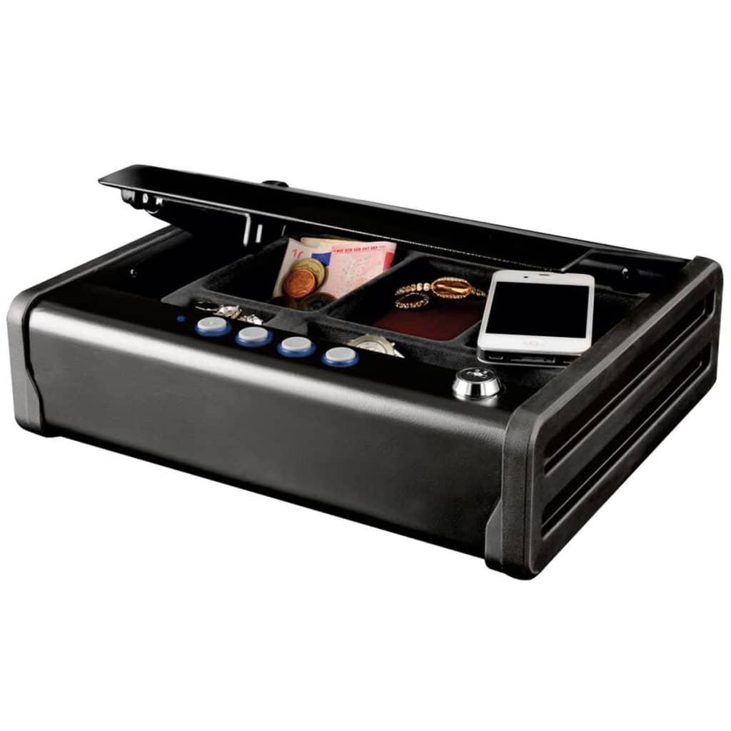 Masterlock MLD08E litet snabbåtkomligt kompakt kassaskåp