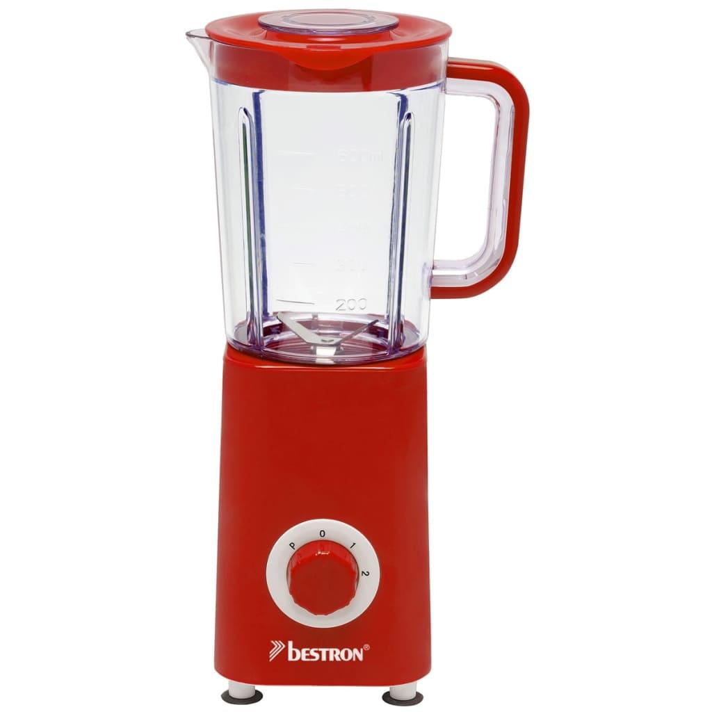 BESTRON Mixer 0,6 L 300 W Röd