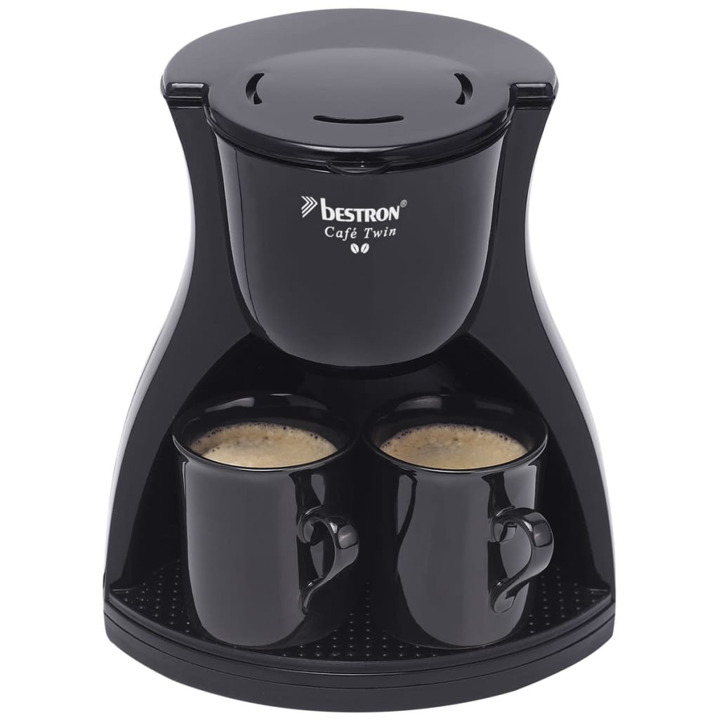 VidaXLcouk Bestron Coffee Maker With 2 Cups 450 W