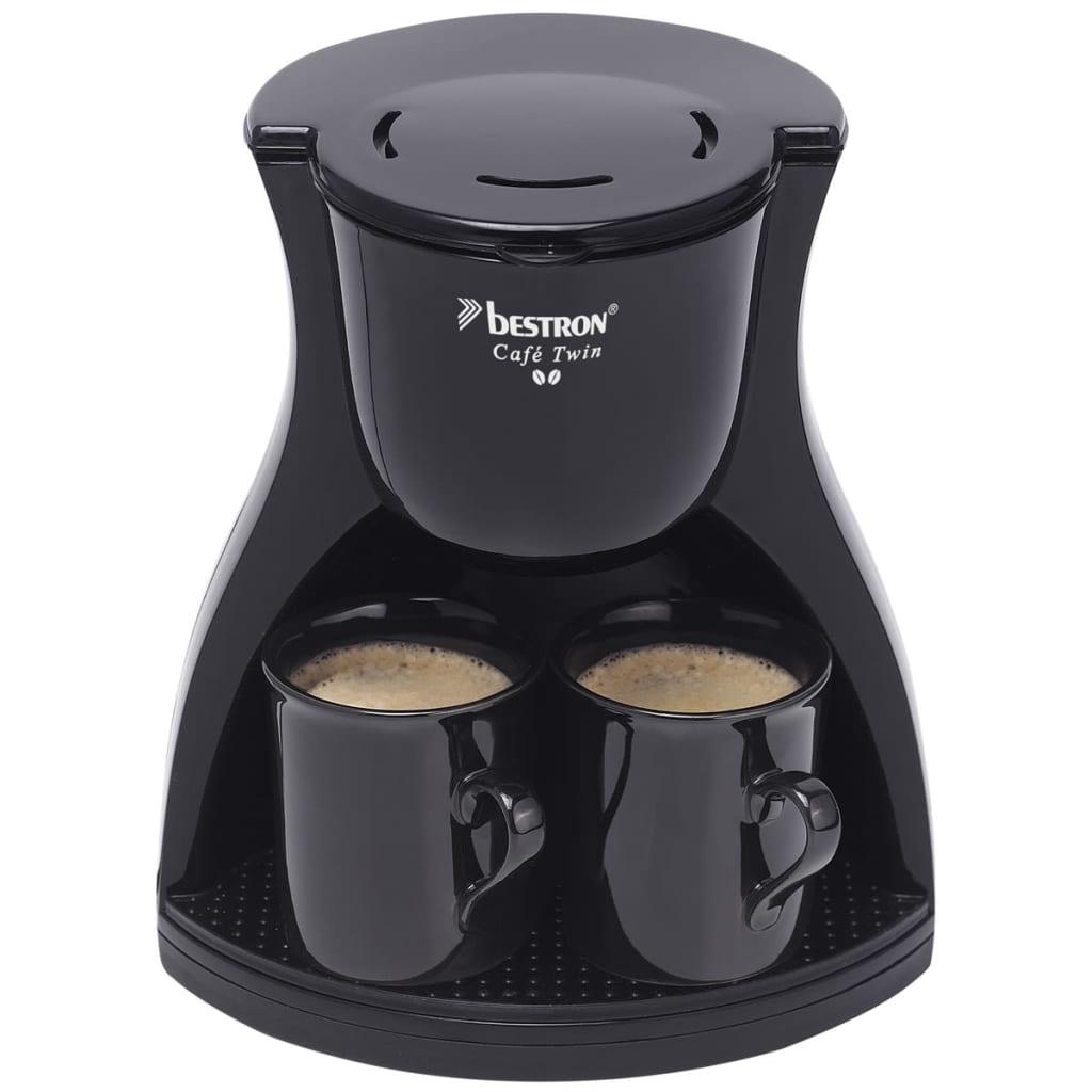 vidaXL.co.uk Bestron Coffee Maker with 2 Cups 450 W ACM8007BE