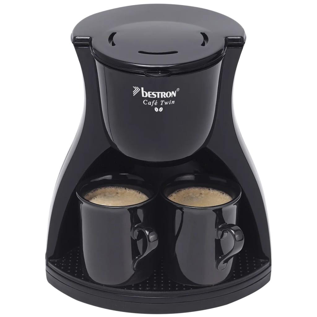 der bestron acm8007be kaffeemaschine mit 2 tassen 450 w online shop. Black Bedroom Furniture Sets. Home Design Ideas