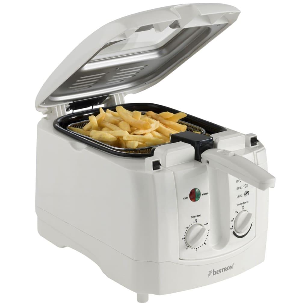Bestron-ADF3000-Cucina-Friggitrice-Elettrica-3-L-1800-W-Bianca