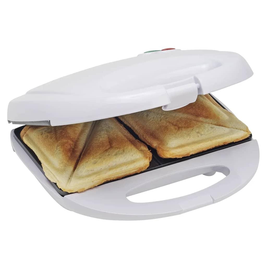 Bestron Sandwich Toaster AFS8009 750 W Weiß