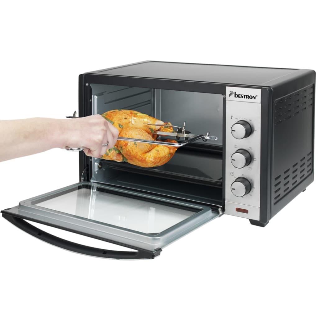 Articoli per bestron agl40 forno elettrico con spiedo e - Forno con funzione pizza ...