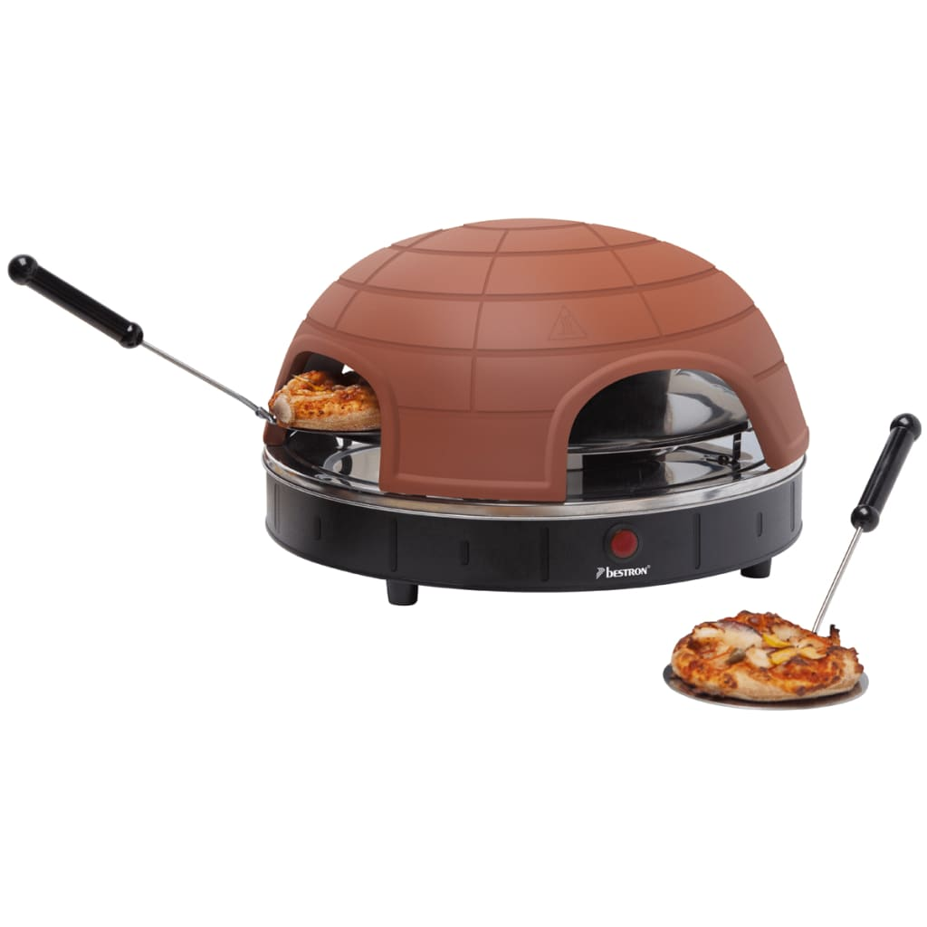 Bestron APG410 Pizza Quartetto pizzasütő 900 W