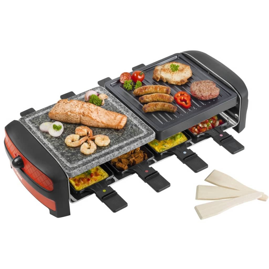 bestron raclette grill 1400 w arc800. Black Bedroom Furniture Sets. Home Design Ideas