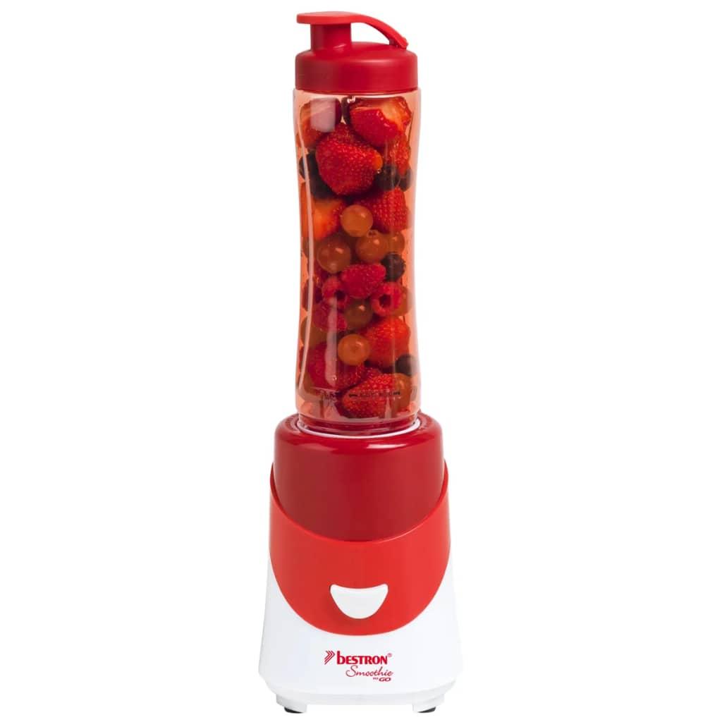 Bestron-ASM250R-Frullatore-Miscelatore-Frutta-Rosso-Elettrodomestico-da-Cucina