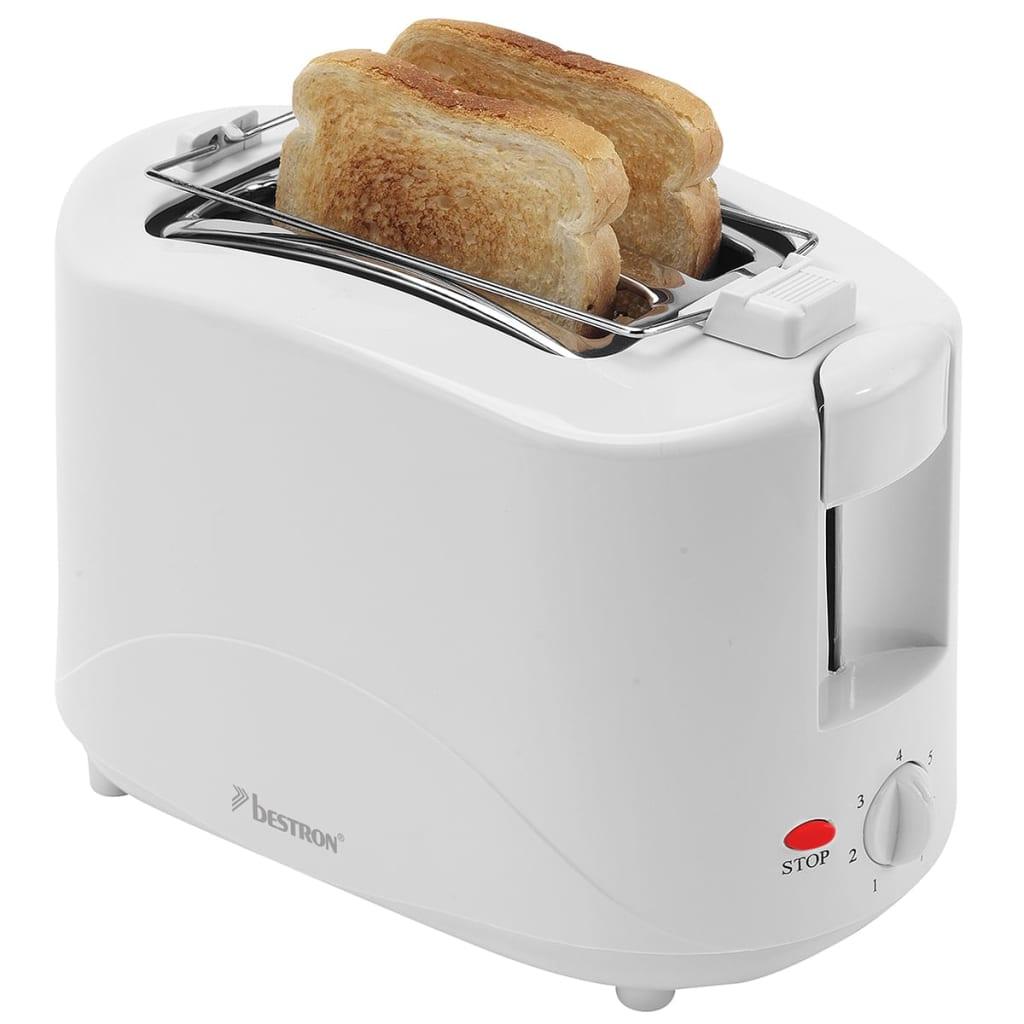 acheter grille pain avec r chauffe viennoiserie 750 w blanc bestron ayt600 pas cher. Black Bedroom Furniture Sets. Home Design Ideas