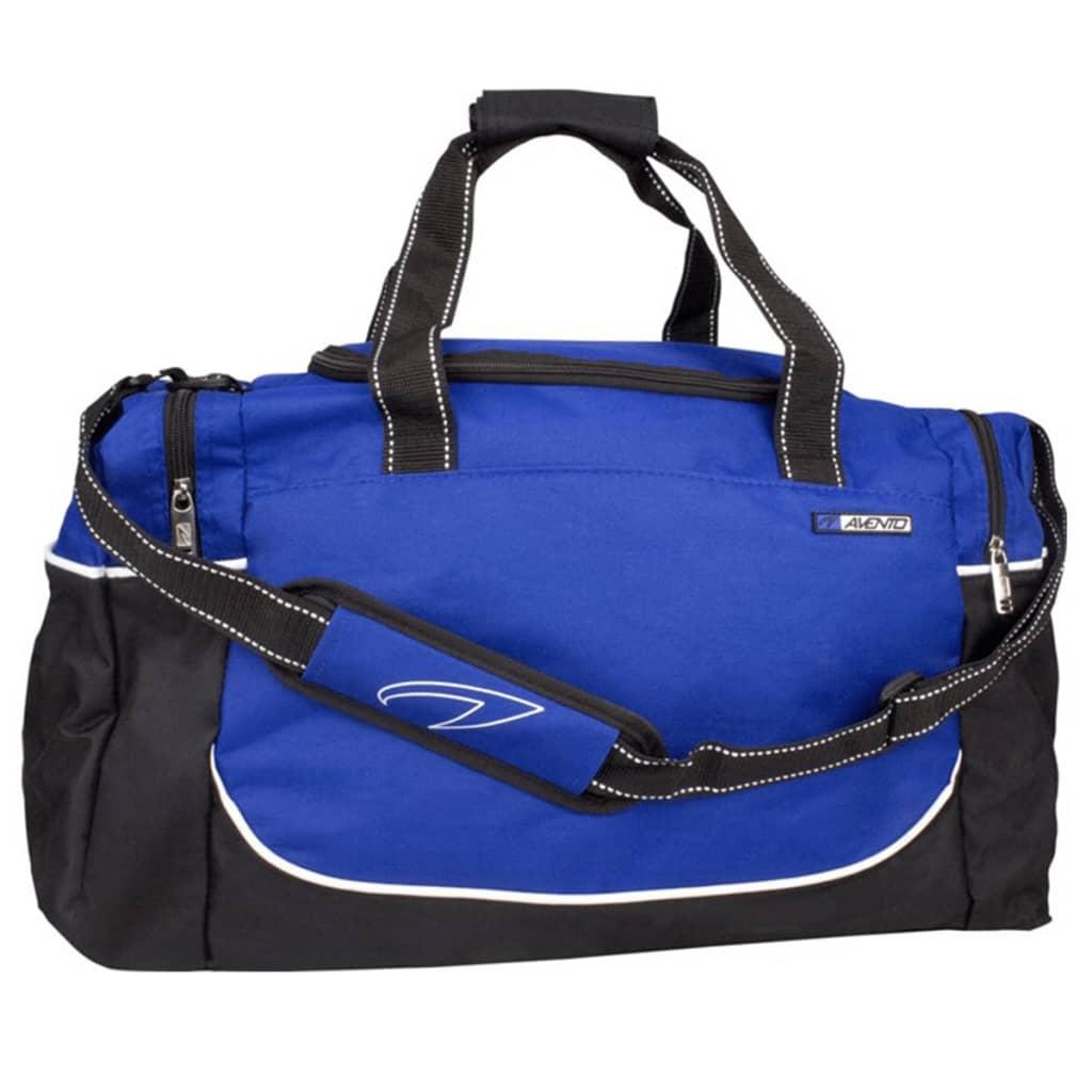 Avento sport táska nagy fekete / kobaltkék 50TE