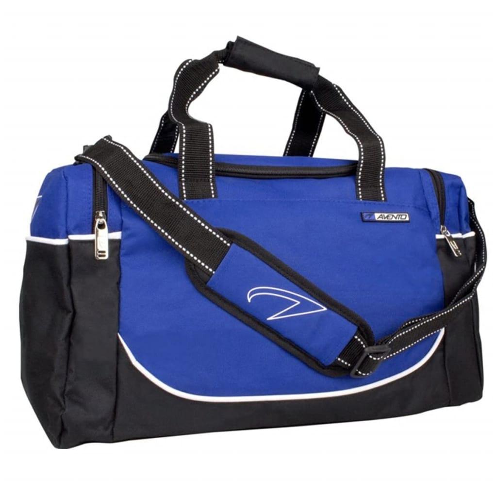 acheter sac de sport de moyenne taille noir bleu cobalt avento 50td pas cher. Black Bedroom Furniture Sets. Home Design Ideas