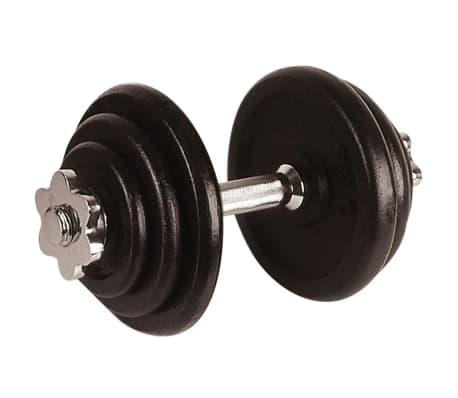 Avento Hantel 10 kg schwarz 41HL