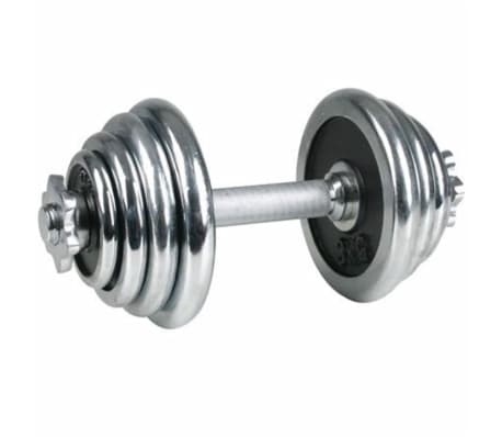 Avento Hantel mit Chorm-Überzug 15 kg 41HD[1/3]