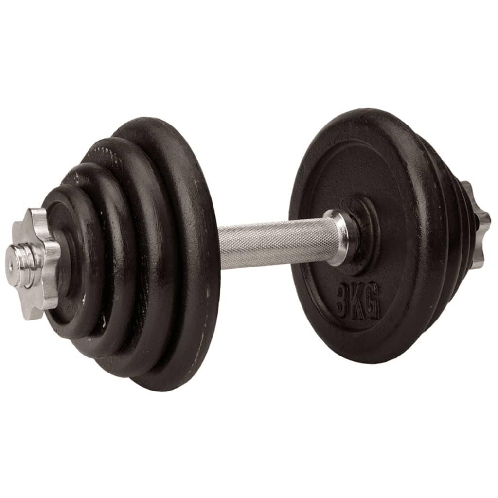 Avento Súlyzó 15kg Fekete 41HK