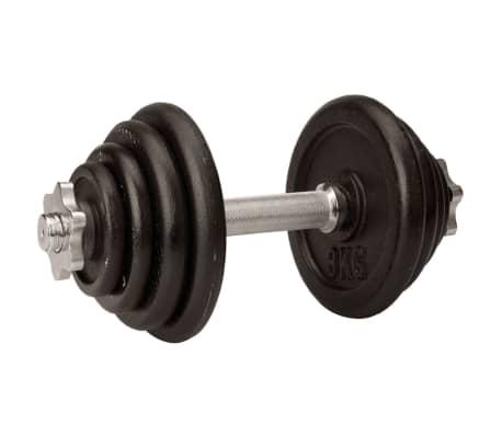 Avento Hantel 15 kg schwarz 41HK