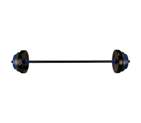 Avento Hantel-Set 20 kg schwarz/grau/kobaltblau 41HB
