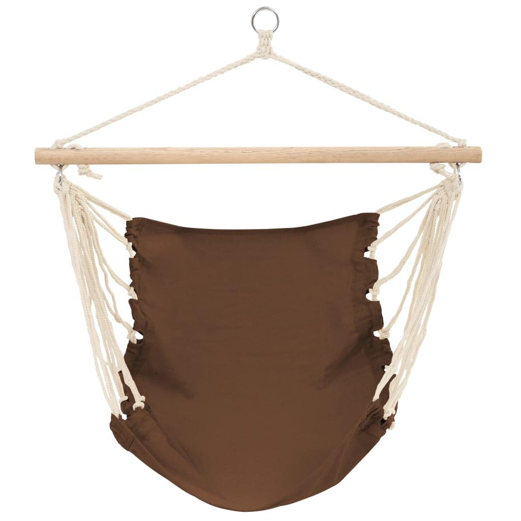 vidaXLse  Hängstol Belize brun