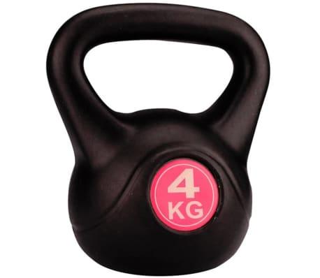 Avento Kettlebell 4 kg Schwarz 41KA