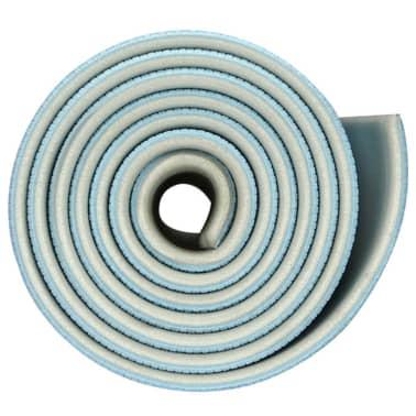 Avento Fitness- und Pilates-Matte hellblau/hellgrau 41WB[3/5]