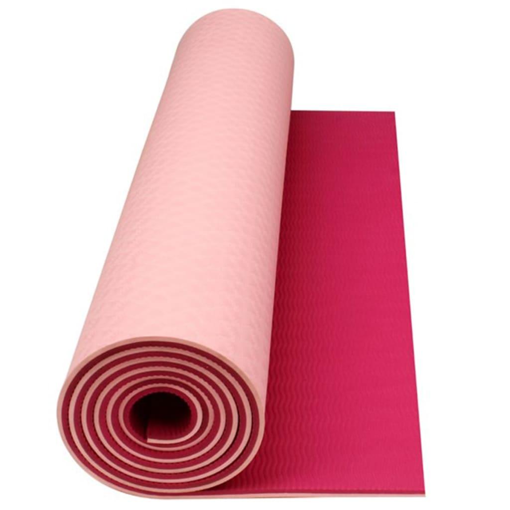 la boutique en ligne tapis de yoga fitness avento fuschia rose doux. Black Bedroom Furniture Sets. Home Design Ideas