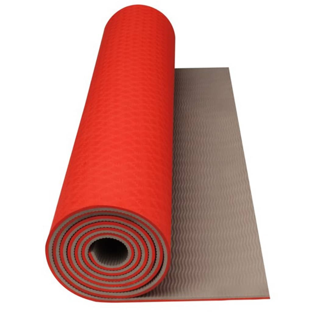 acheter tapis de yoga fitness avento orange fluo beige pas cher. Black Bedroom Furniture Sets. Home Design Ideas