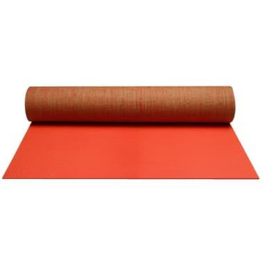 Avento Yogamatte Öko-Jute Leuchtrosa 41 WD[1/3]