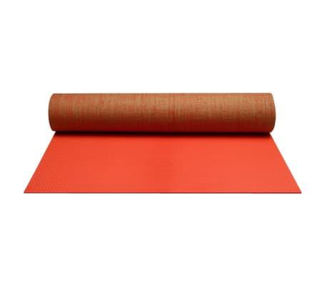 Avento Yogamatte Öko-Jute Leuchtrosa 41 WD