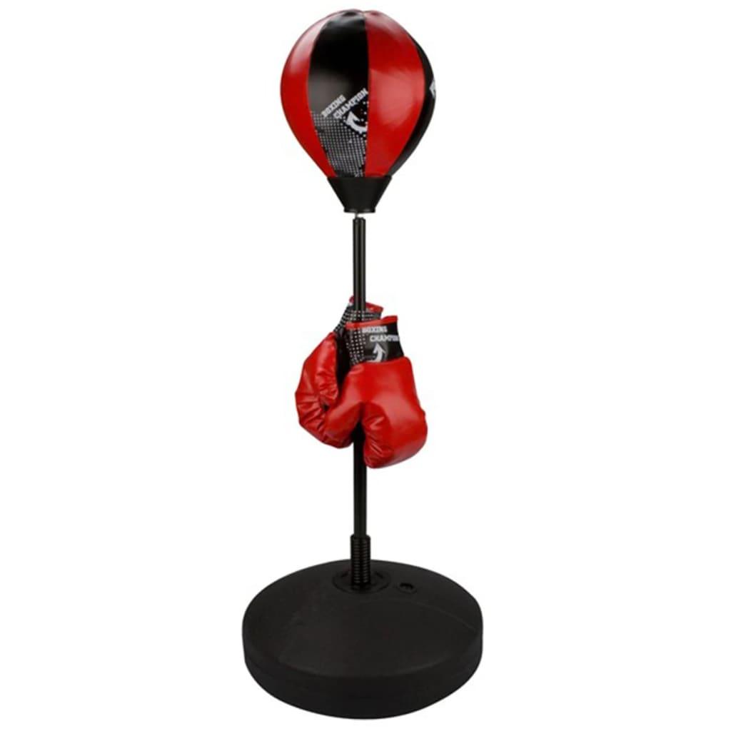 Avento Junior 41BE álló reflexlabda szett fekete/vörös