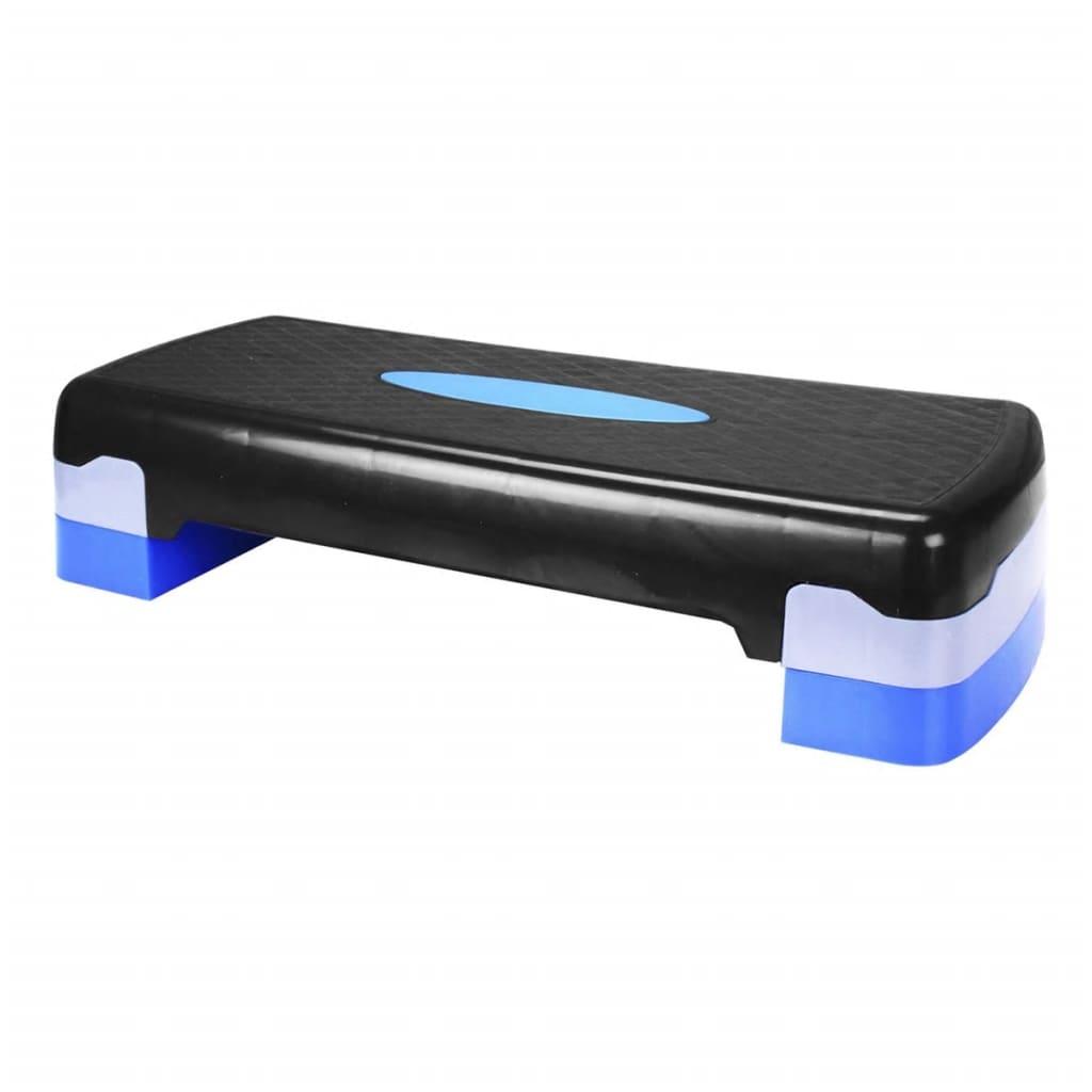 la boutique en ligne banc de step petit avento noir bleu. Black Bedroom Furniture Sets. Home Design Ideas