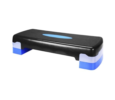 Avento Stepping-Bank klein Schwarz/Blau 41VU