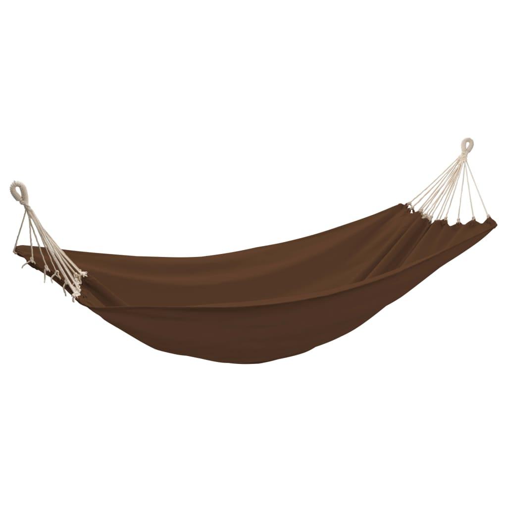 Hamaca 260 x 150 cm marr n tienda online for Amazon hamacas jardin