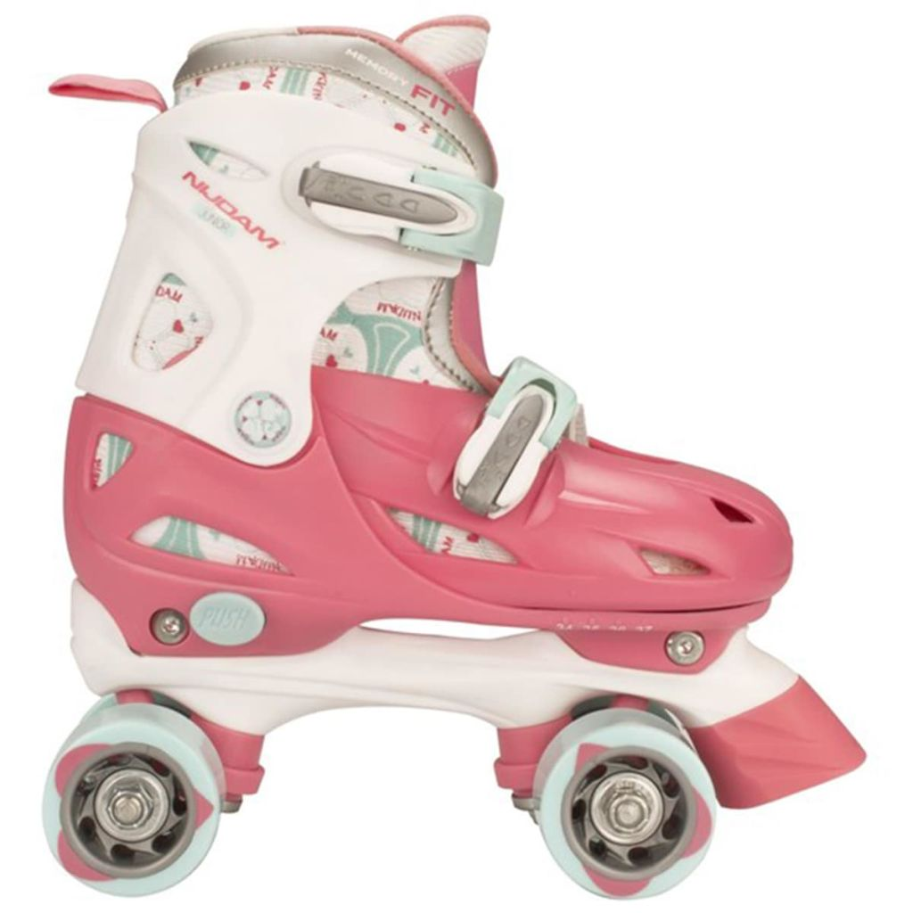 Nijdam 403595 Junior Roller Skates 30-33 RWB 52QN - Untranslated