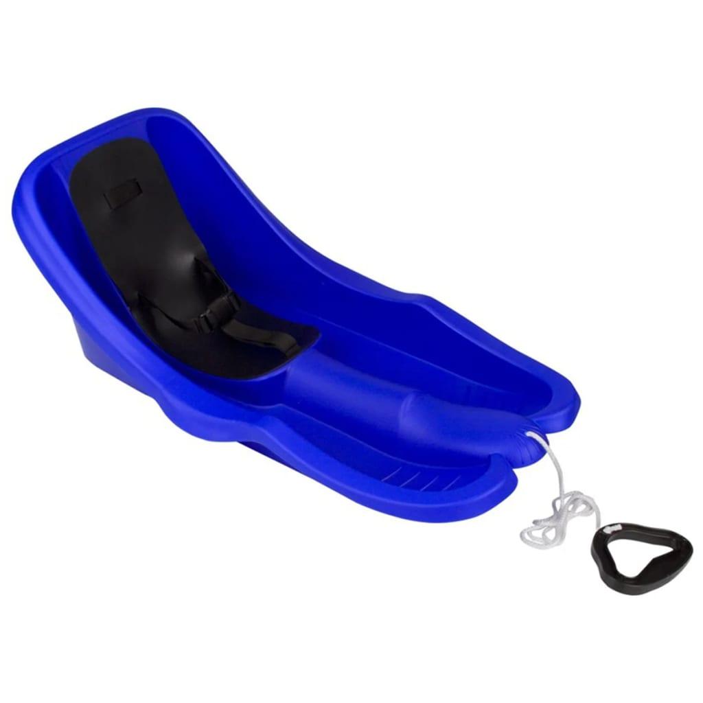 Nijdam 0297 műanyag babaszánkó kobaltkék/fekete