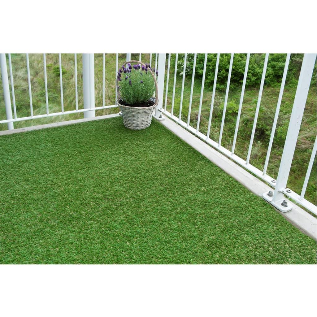 Nature herbe artificielle 1 x 2 m vert 6030571 - Tapis herbe artificielle ...