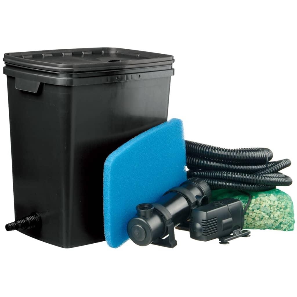 Filtro de estanque ubbink filtrapure 7000 plus 1355972 for Filtro solar para estanque