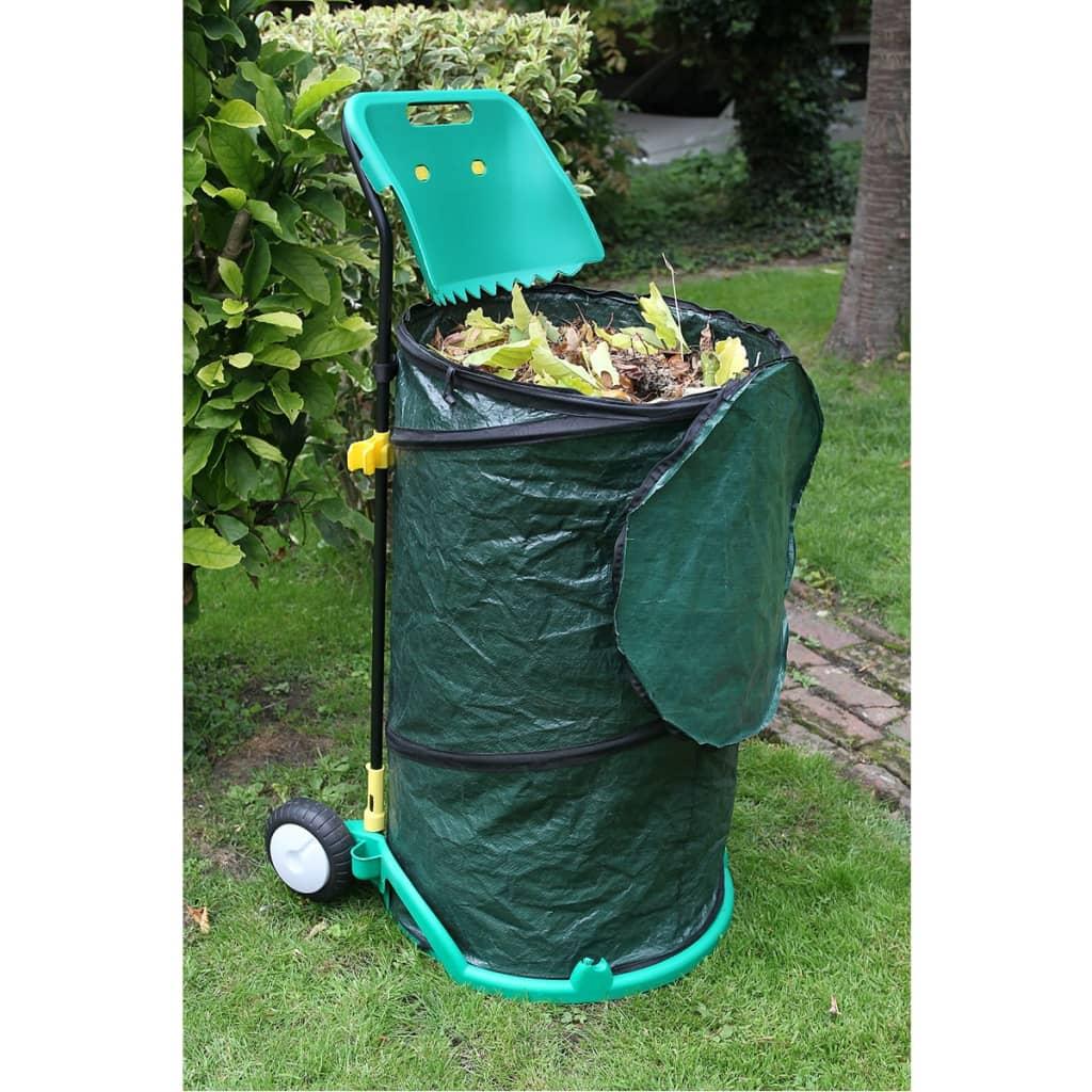 acheter chariot d chets de jardin pliable nature 6070405 pas cher. Black Bedroom Furniture Sets. Home Design Ideas