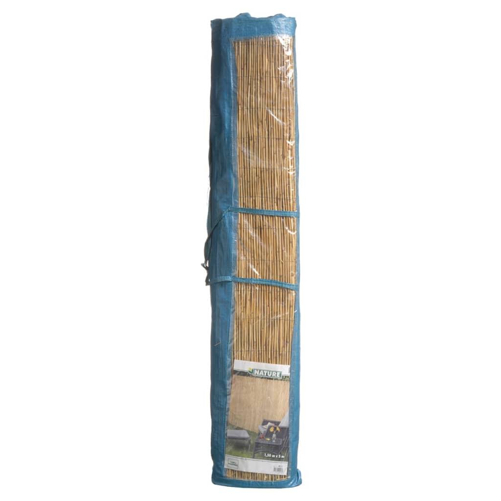 acheter canisse en bambou 1 x 5 m nature 6050125 pas cher. Black Bedroom Furniture Sets. Home Design Ideas