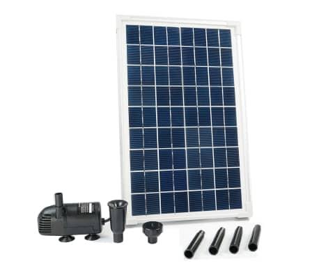 la boutique en ligne kit solarmax 600 avec pompe et panneau solaire ubbink 1351181. Black Bedroom Furniture Sets. Home Design Ideas