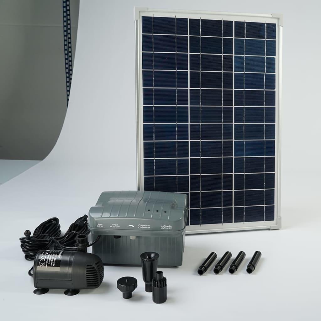 acheter kit solarmax 1000 avec pompe panneau solaire batterie ubbink 1351182 pas cher. Black Bedroom Furniture Sets. Home Design Ideas