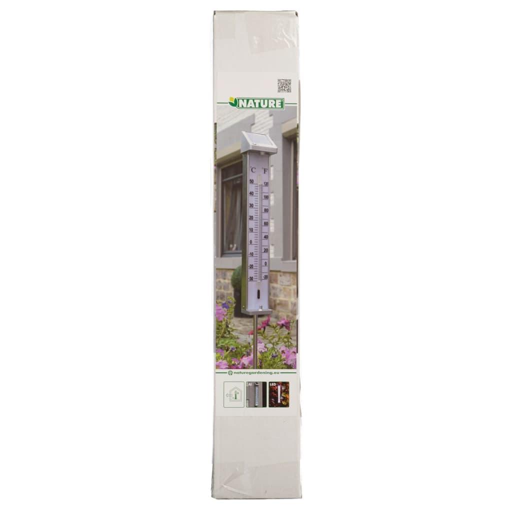 Acheter thermom tre ext rieur avec clairage led solaire for Eclairage exterieur pas cher