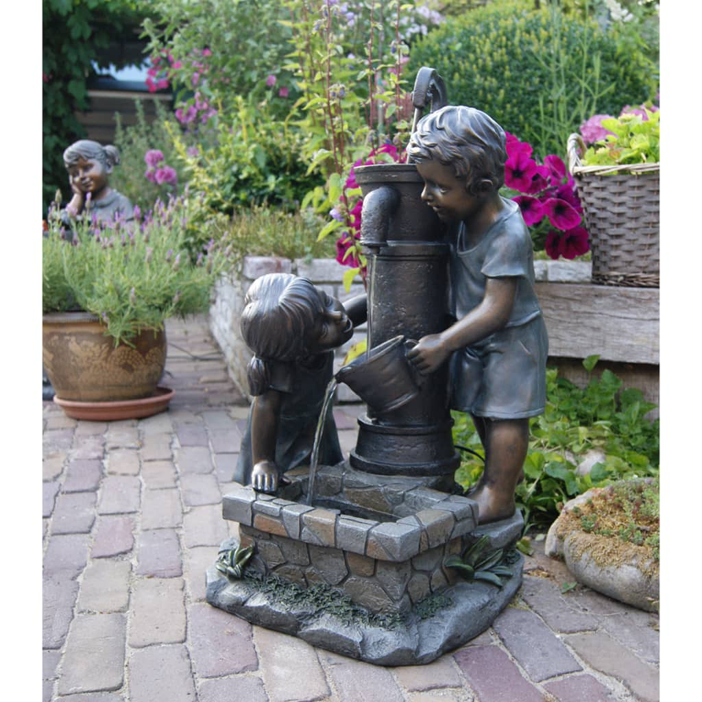 Set fuente de agua para jard n ubbink atlanta 1387016 for Fuentes para jardin baratas