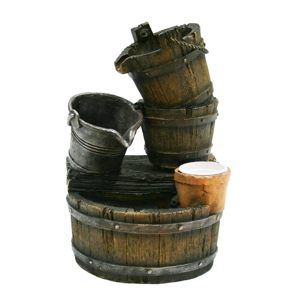 Set fuente de agua para jard n ubbink acqua halifax - Fuentes de jardin rusticas ...