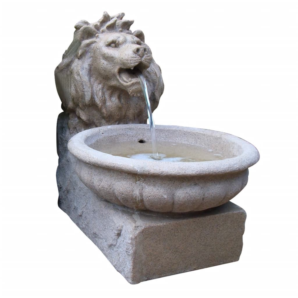 Set fuente y estanque para el jardin ubbink modelo basel for Fuente estanque jardin