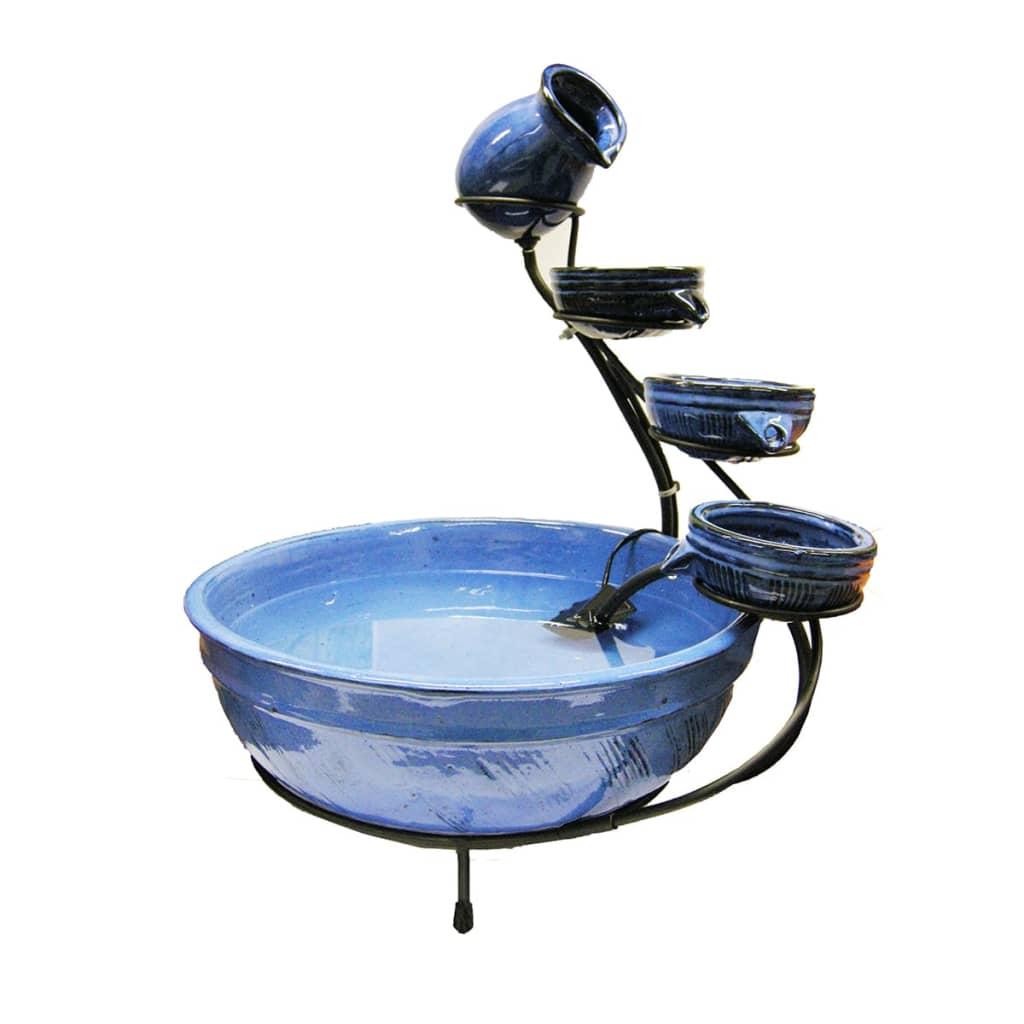 fuente de agua decorativa de cermica ubbink