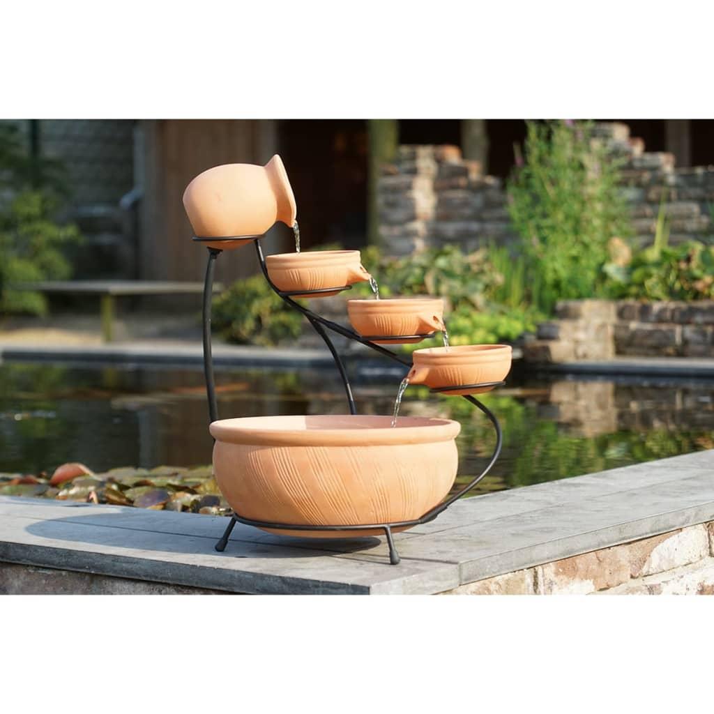 acheter jeu de pots pour fontaine en terre cuite chute d. Black Bedroom Furniture Sets. Home Design Ideas