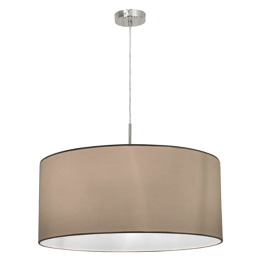 La boutique en ligne suspension ronde blanche pasteri eglo for Suspension luminaire ronde